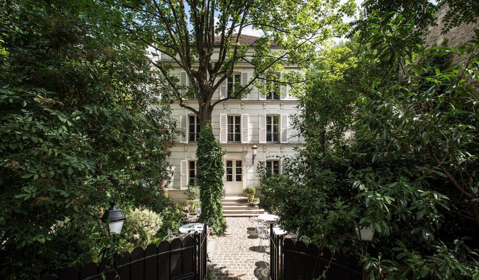 Hôtel Particulier Montmartre, Paris, France. TravelPlusStyle.com