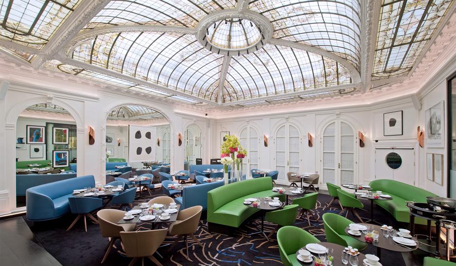Hotel Vernet, Champs - Élysées, Paris, France. TravelPlusStyle.com