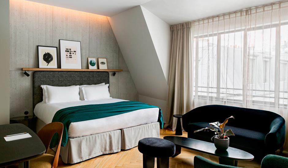 Hotel National des Arts et Métiers, Paris, France. TravelPlusStyle.com