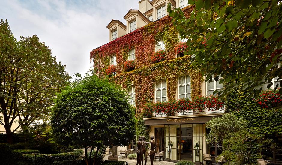 Le Pavillon de la Reine,Paris, France. TravelPlusStyle.com