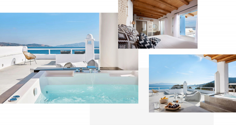Casa Litore Suite, Milos, Greece.The ultimate guide to the best chic hotels in Milos, Greece by Travelplusstyle.com