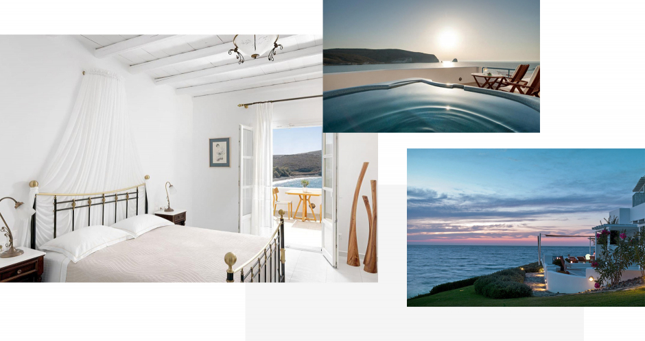Melian Boutique Hotel & Spa, Milos, Greece. The ultimate guide to the best chic hotels in Milos, Greece by Travelplusstyle.com