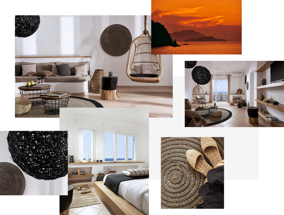 Villa Del Mar, Milos, Greece.The ultimate guide to the best chic hotels in Milos, Greece by Travelplusstyle.com