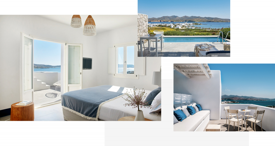 Milos Breeze Boutique Hotel, Milos, Greece. The ultimate guide to the best chic hotels in Milos, Greece by Travelplusstyle.com