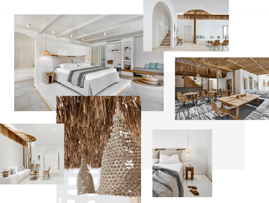Arco Solium Suites, Milos, Greece. The ultimate guide to the best chic hotels in Milos, Greece by Travelplusstyle.com