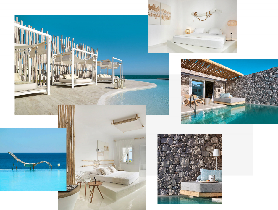 Artemis Deluxe Rooms, Paleochori, Milos, Greece. The ultimate guide to the best chic hotels in Milos, Greece by Travelplusstyle.com