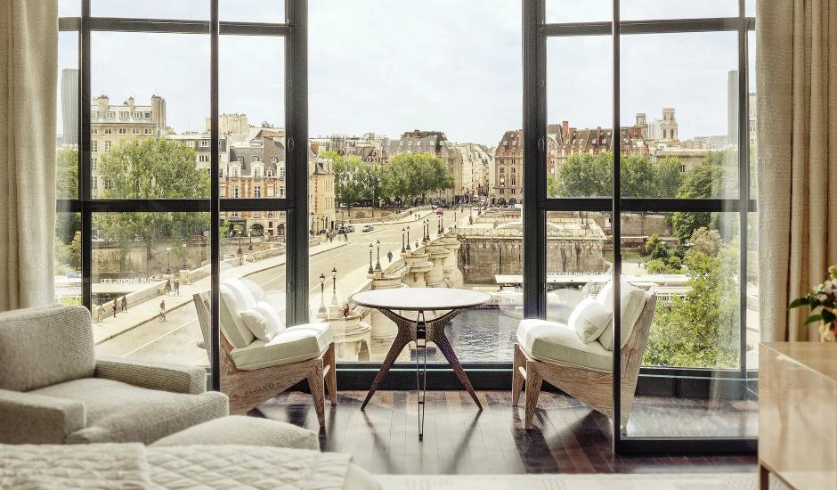 Cheval Blanc Paris, Paris, France. TravelPlusStyle.com