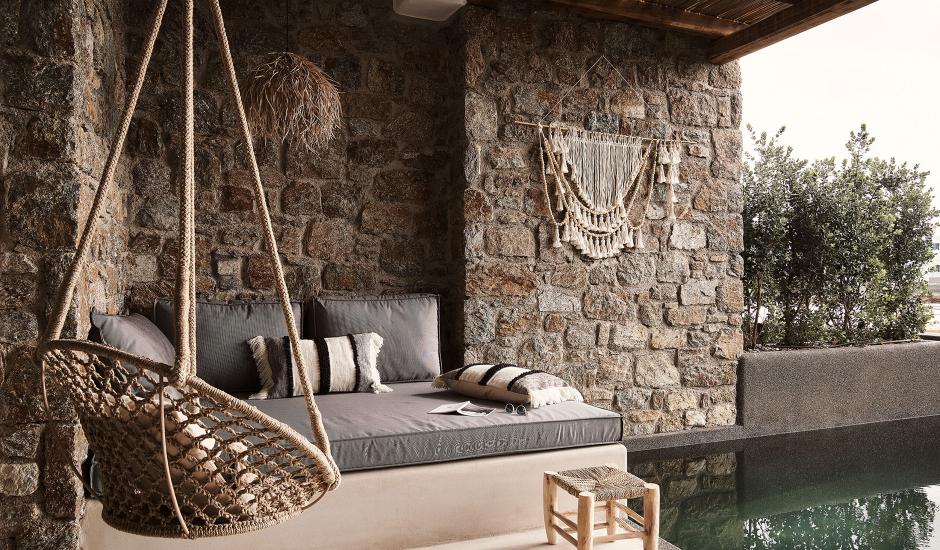 Habitat Mykonos All-Suite Hotel, Mykonos, Greece. TravelPlusStyle.com