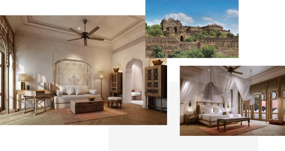 Six Senses Fort Barwara, India. TravelPlusStyle.com