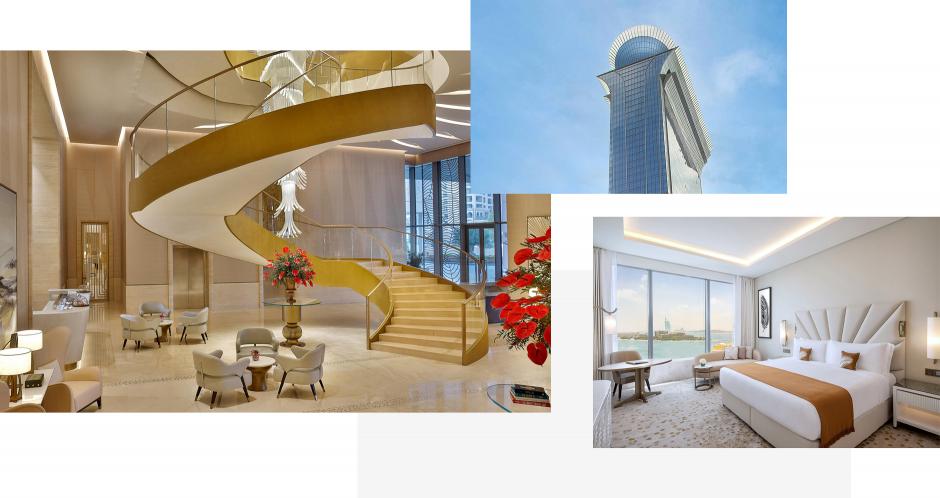 The St. Regis Dubai, The Palm, Dubai, UAE. TravelPlusStyle.com