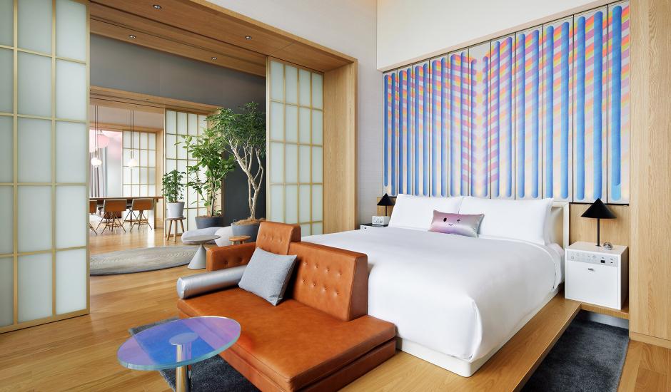 W Osaka, Osaka, Japan. TravelPlusStyle.com