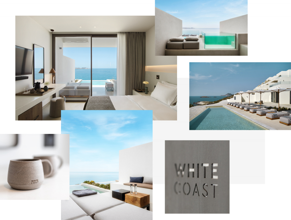 White Coast Pool Suites, Milos, Greece. TravelPlusStyle.com