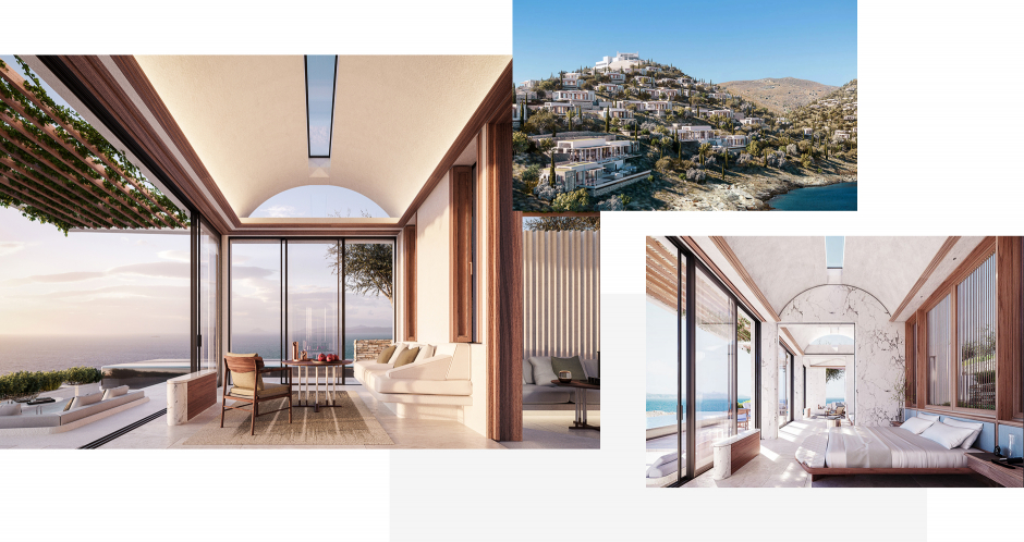 One&Only Kea Island, Greece. TravelPlusStyle.com