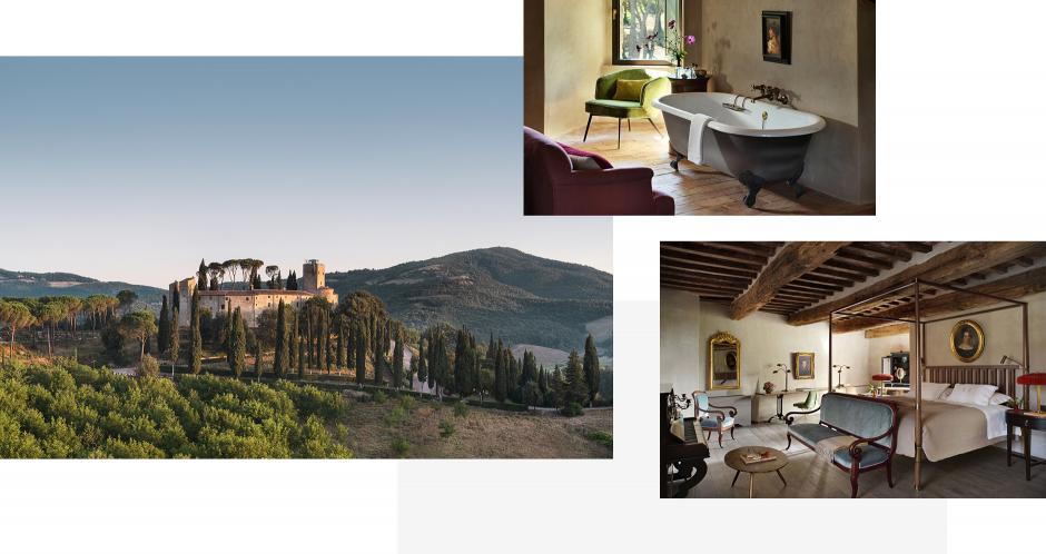 Hotel Castello di Reschio, Umbria, Italy. TravelPlusStyle.com