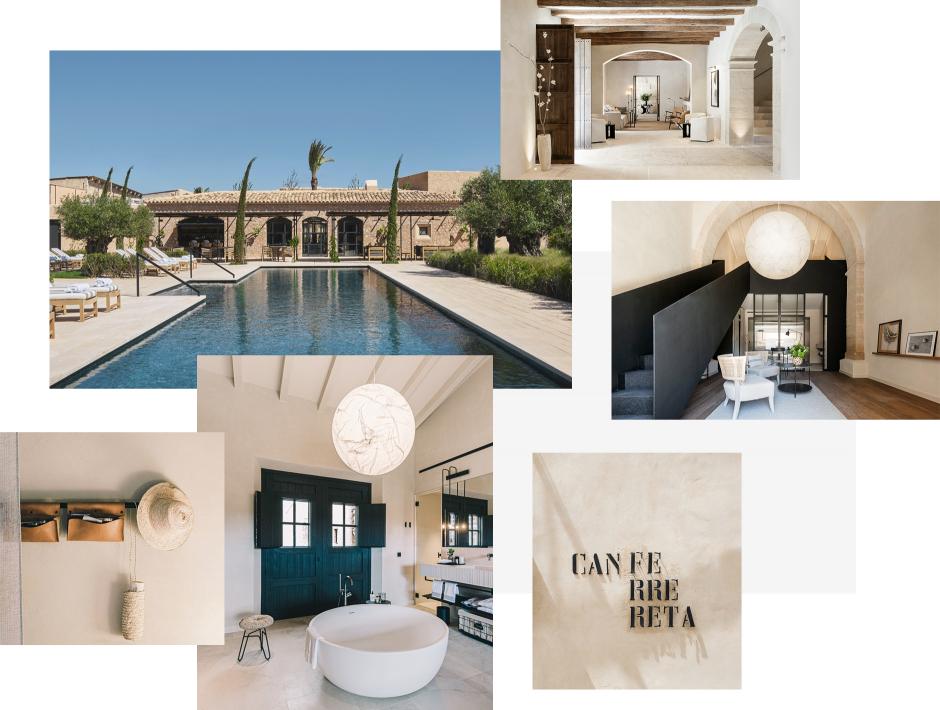 Can Ferrereta, Mallorca, Spain. TravelPlusStyle.com