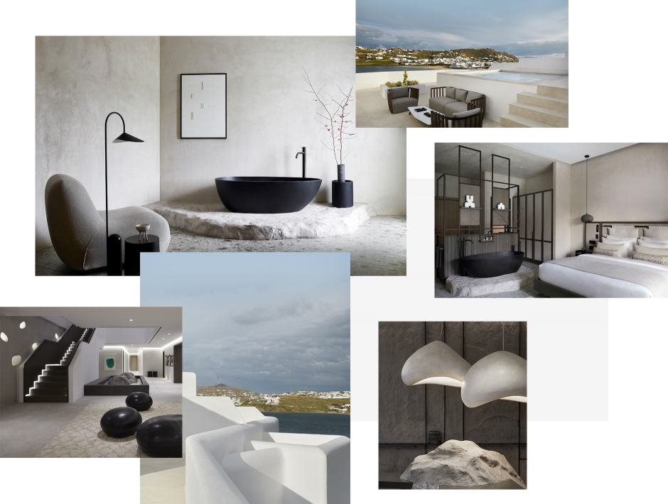 Aeonic Suites and Spa, Mykonos, Greece. The Best Luxury Hotels In Mykonos. TravelPlusStyle.com
