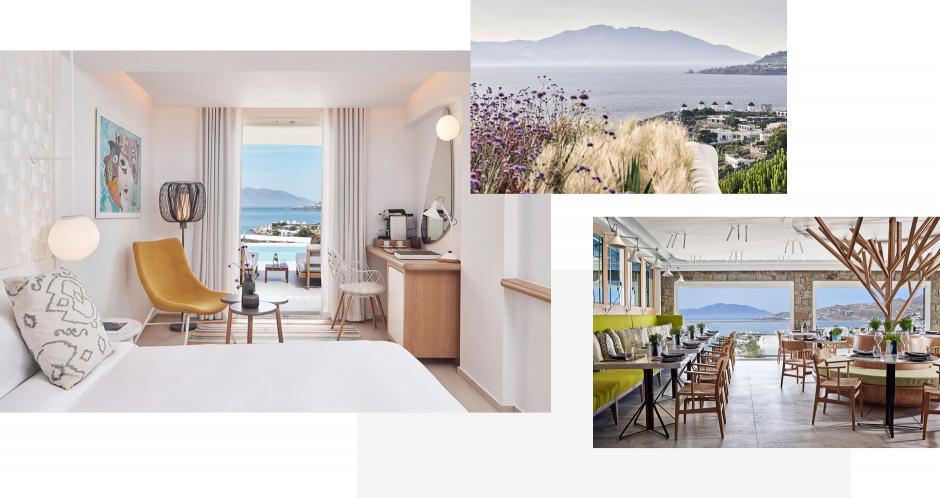 Myconian Kyma, Mykonos, Greece. The Best Luxury Hotels In Mykonos. TravelPlusStyle.com