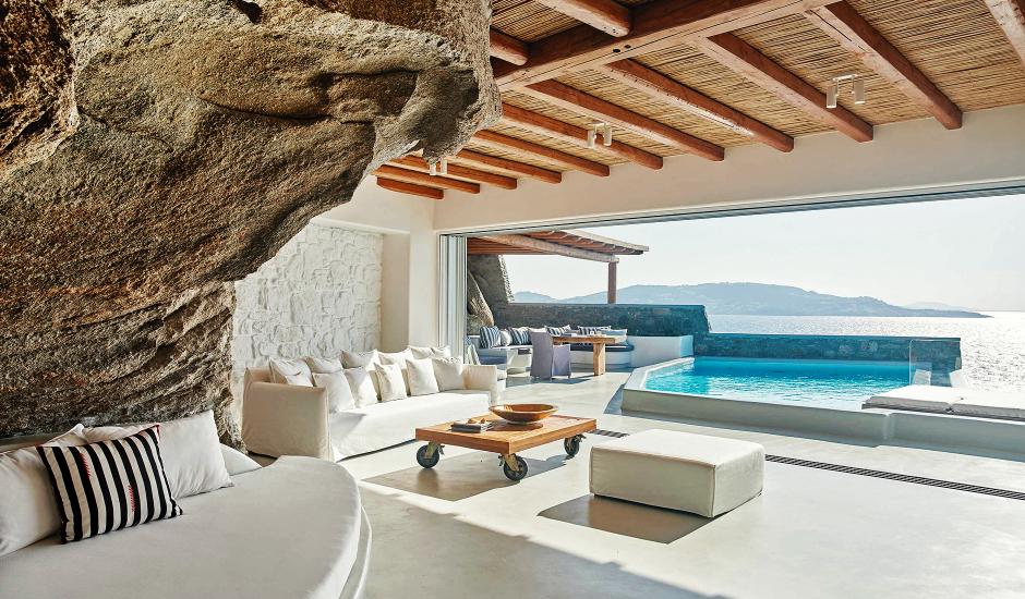 Cavo Tagoo Mykonos, Mykonos, Greece. The Best Luxury Hotels In Mykonos. TravelPlusStyle.com
