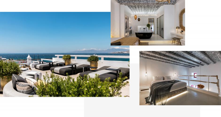 The TownHouse Mykonos, Mykonos, Greece. The Best Luxury Hotels In Mykonos. TravelPlusStyle.com