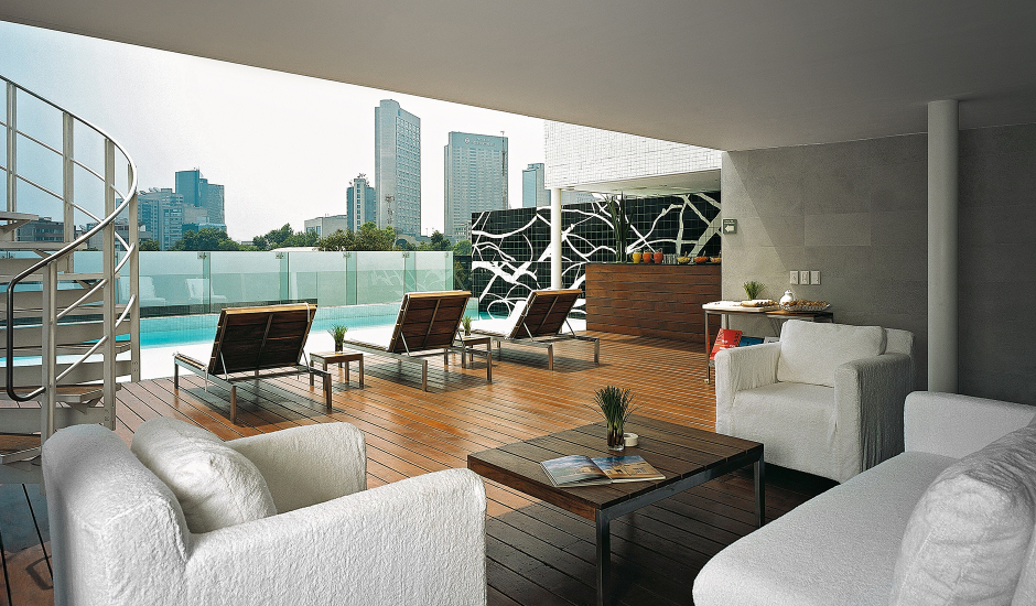 Habita Hotel, Mexico City, Mexico. The Best Luxury and Boutique Hotels in Mexico City, Mexico. TravelPlusStyle.com