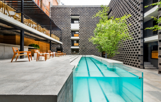 Hotel Carlota, Mexico City, Mexico. The Best Luxury and Boutique Hotels in Mexico City, Mexico. TravelPlusStyle.com