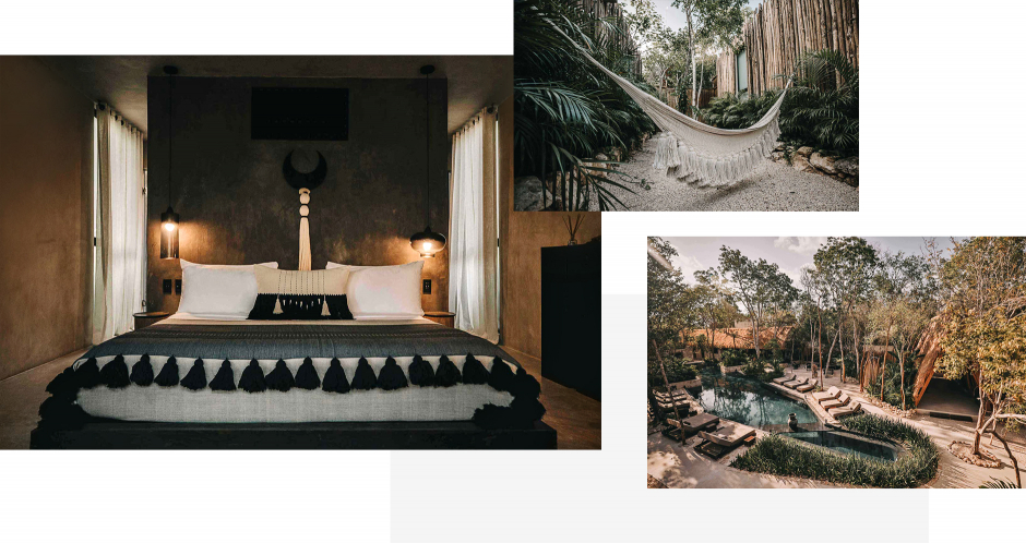 Hotel Bardo, Tulum, Mexico. The Best Boutique Hotels in Tulum. TravelPlusStyle.com