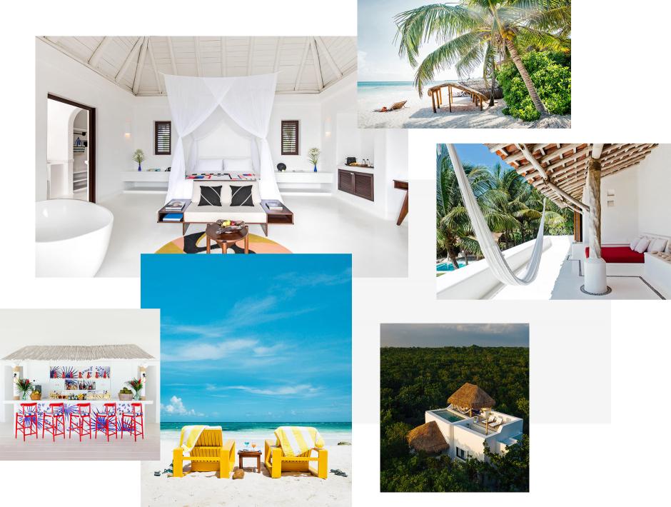 Hotel Esencia, Tulum, Mexico. The Best Boutique Hotels in Tulum. TravelPlusStyle.com