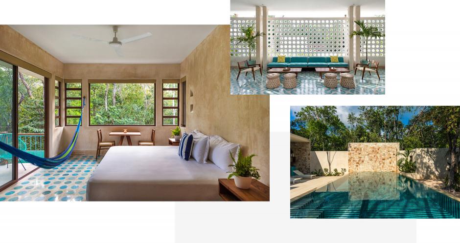 Hotel Tiki Tiki Tulum, Mexico. The Best Boutique Hotels in Tulum. TravelPlusStyle.com