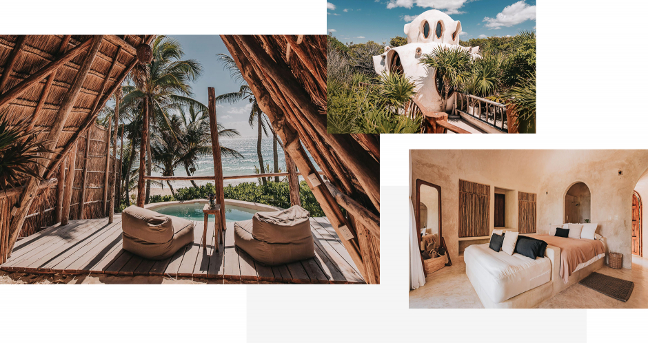 Papaya Playa Project Tulum, Mexico. The Best Boutique Hotels in Tulum. TravelPlusStyle.com
