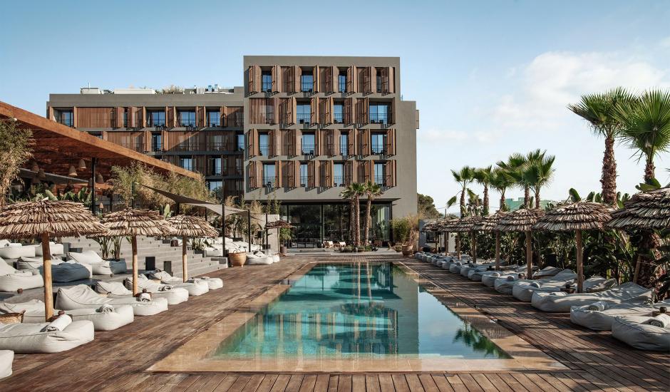 OKU Ibiza, Balearic Islands, Spain. TravelPlusStyle.com