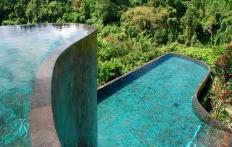 Iconic pool, Ubud Hanging Gardens Hotel. Photo © Travel+Style