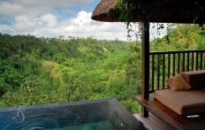 View from the villa, Ubud Hanging Gardens Hotel. Photo © Travel+Style