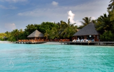 Vilu. Conrad Maldives Rangali Island. © Travel+Style