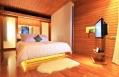 Beachfront Suite Pool Villa, bedroom © casa de la flora