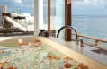 Aqua Villas bath. Park Hyatt Maldives, Hadahaa. © Hyatt Corporation