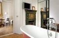 Fireplace Room Bathroom © Casa Howard