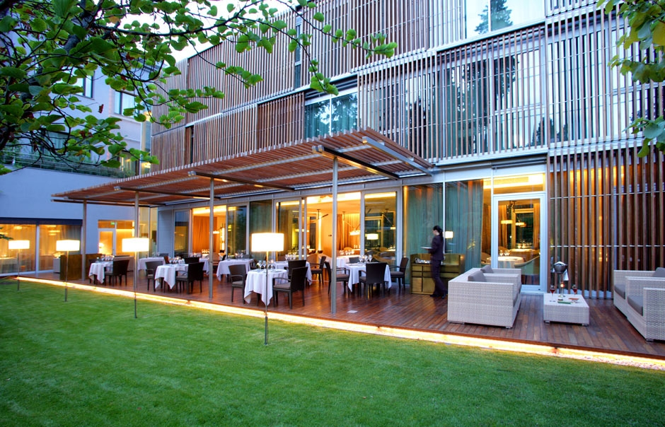 Exterior View © ABaC Restaurant Hotel