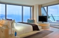 Wow Suite bedroom with Mediterranean views © Starwood Hotels & Resorts Worldwide, Inc.