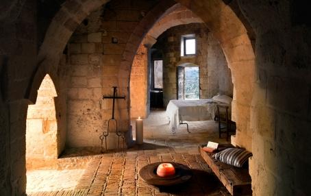 Room, Albergo Sextantio Le grotte della Civita © SASSIDIMATERA.COM