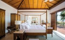 Prestige Pool Villa bedroom © The Residence Zanzibar