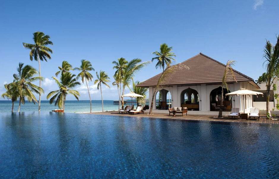 Infinity pool © The Residence Zanzibar