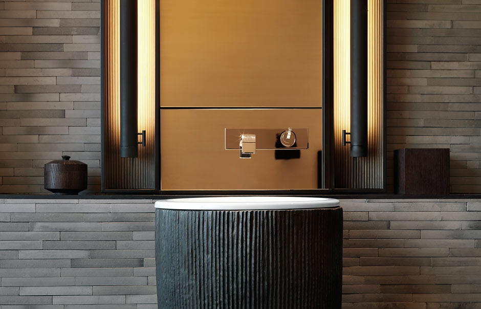 Deluxe Suite bathroom. The PuLi Hotel and Spa Shanghai, China. © The PuLi Hotel and Spa.