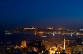 The night view from the upper sea view floors at Witt Istanbul Hotel. © Witt Istanbul Hotel. © Witt Istanbul Hotel