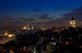 The night view from the upper sea view floors at Witt Istanbul Hotel. © Witt Istanbul Hotel