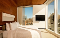 The Liberty Corner King Room at The Standard New York © Hotels AB LLC