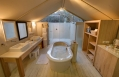 Tent bathroom, Kapama Karula, South Africa. © Kapama Private Game Reserve