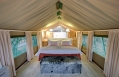 Tent interior, Kapama Karula, South Africa. © Kapama Private Game Reserve