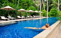 The Main Pool. Four Seasons Resort Koh Samui. © Travel+Style