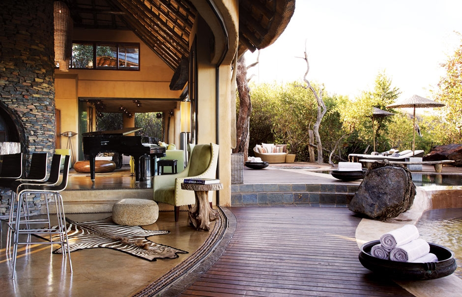 Molori Safari Lodge, South Africa. Main lodge © Molori Safari Lodge