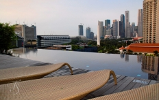 Infinity Pool. Naumi Hotel, Singapore. ©Travel+Style
